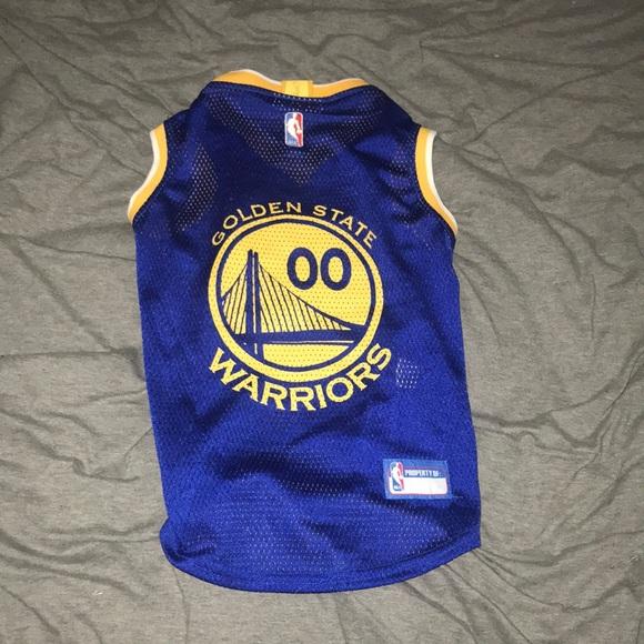 new style 3f3da a2c7d Golden State Warriors Dog Jersey